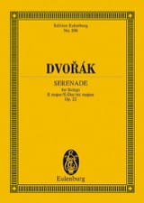 Antonin Dvorak - Serenade E-Dur, Op 22 (B 52) - Sheet Music - di-arezzo.co.uk