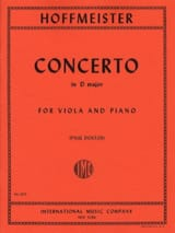Franz Anton Hoffmeister - Concerto in D major - Viola - Sheet Music - di-arezzo.com