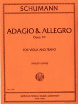 SCHUMANN - Adagio - Allegro op. 70 - Sheet Music - di-arezzo.co.uk