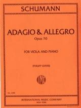 SCHUMANN - Adagio - Allegro op. 70 - Partitura - di-arezzo.es