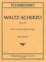 TCHAIKOVSKY - Valse-Scherzo op. 34 - Sheet Music - di-arezzo.co.uk