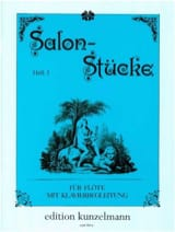 - Salonstücke - Heft 1 - Flöte Klavier - Sheet Music - di-arezzo.co.uk