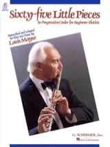 Louis Moyse - 65 Little pieces – Flute piano - Partition - di-arezzo.fr