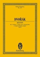 Sextuor à Cordes, op. 48 - Conducteur - laflutedepan.com