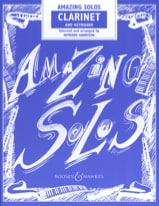 Amazing Solos - Clarinette Howard Harrison Partition laflutedepan.com