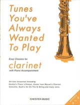 Tunes You've Always Wanted To Play - Clarinet & Piano laflutedepan.com