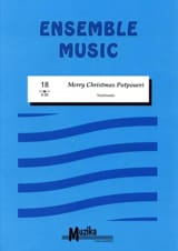 Merry Christmas potpourri - Ensemble Partition laflutedepan