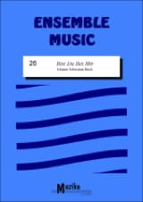 BACH - Bist du bei mir –Ensemble - Partition - di-arezzo.fr
