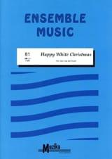 Happy White Christmas -Ensemble Partition laflutedepan.com