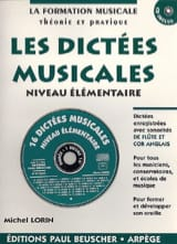 Michel Lorin - Musical dictations - Elementary - Sheet Music - di-arezzo.com