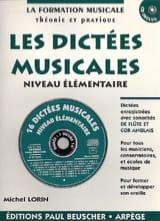Les dictées musicales – Elémentaire - Michel Lorin - laflutedepan.com