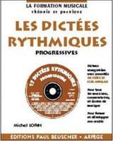 Les dictées rythmiques progressives Michel Lorin laflutedepan.com