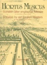 - Sonaten alter englischer Meister - Bd. 3 – Altblockflöte u. Bc - Partition - di-arezzo.fr