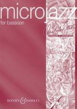 Microjazz for Bassoon - Christopher Norton - laflutedepan.com