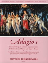 Adagio Volume 1 Werner Thomas-Mifune Partition laflutedepan.com