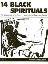 14 Black spirituals Bernhard Sieber Partition laflutedepan.com