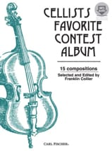 Cellists favorite Contest Album (avec accompagnement audio) - laflutedepan.com