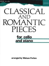 Classical and romantic pieces - Watson Forbes - laflutedepan.com