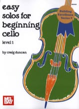 Easy Solos for beginning Cello – Level 1 Craig Duncan laflutedepan.com