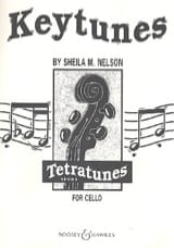 Sheila M. Nelson - Keytunes for cello - Partition - di-arezzo.fr