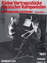 Gunter Ribke - Kleine Vortragsstücke Heft 1 russische Komponisten - Noten - di-arezzo.de
