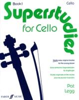 Pat Legg - Superstudies, Volume 1 – Cello - Partition - di-arezzo.fr