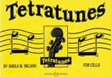 Tetratunes - Cello Sheila M. Nelson Partition laflutedepan.com