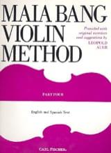 Violin Method - Volume 4 Maia Bang Partition Violon - laflutedepan.com