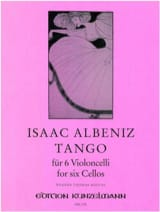 Isaac Albeniz - Tango - 6 cellos - Sheet Music - di-arezzo.co.uk