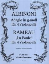 Adagio en Sol Mineur / La Poule laflutedepan.com