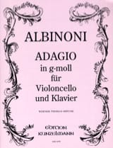 Tomaso Albinoni - Adagio in g-moll - Partition - di-arezzo.fr