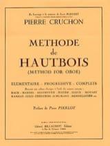 Méthode de hautbois Pierre Cruchon Partition laflutedepan.com