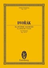 Danses Slaves, op. 46 n° 5-8 - Conducteur - laflutedepan.com