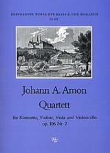 Quartett op. 106 Nr. 2 -Klarinette Violine Viola Cello laflutedepan.com