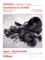 - Greensleeves to a ground - Soprano Flute and Guitar - Sheet Music - di-arezzo.com