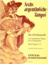 6 Argentinische Tangos - Heft 1 1-3 Werner Thomas-Mifune laflutedepan