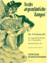6 Argentinische Tangos – Heft 2 (4-6) - laflutedepan.com