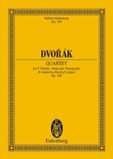 Streich-Quartett As-Dur, Op. 105 Antonin Dvorak laflutedepan.com