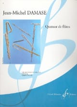 Quatuor de Flûtes Jean-Michel Damase Partition laflutedepan.com