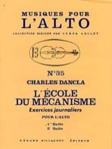 L'école du mécanisme - Volume 1 – Alto Charles Dancla laflutedepan.com