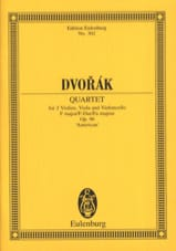 Antonin Dvorak - Streichquartett F-Dur, op. 96 (B 179) - Partitur - Sheet Music - di-arezzo.co.uk