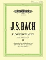 BACH - Sonatas for Flute Vol. 2 - BWV 1033, 1034, 1035 - Sheet Music - di-arezzo.co.uk