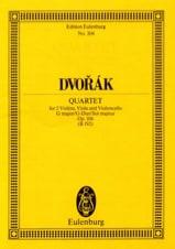 Streich-Quartett G-Dur, Op. 106 Antonin Dvorak laflutedepan.com
