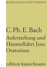 Auferstehung.. - Conducteur Carl Philipp Emanuel Bach laflutedepan.com