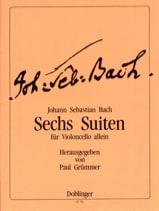 6 Suites, BWV 1007-1012 BACH Partition Violoncelle - laflutedepan.com