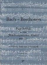 Fuge b-moll BWV 867 -2 Vln Va 2 Vlc - Stimmen laflutedepan