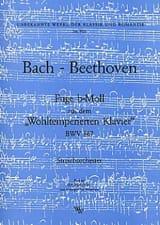 Fuge b-moll BWV 867 –Streichorchester - Partitur + Stimmen laflutedepan.com