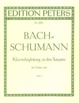 Klavierbegleitung zu den Sonaten für Violine solo, Heft 1 laflutedepan.com
