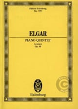 Edward Elgar - Klavier-Quintett a-moll - Sheet Music - di-arezzo.co.uk