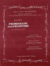 Promenade aux Chartons - Clarinette - Jean Del - laflutedepan.com